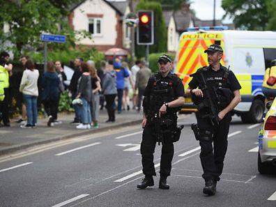 Die Polizei in Manchester ist seit dem Attentat in Alarmbereitschaft.