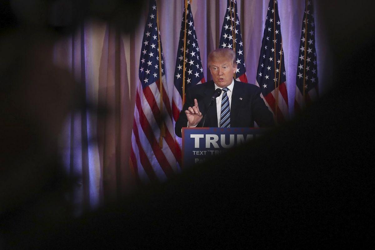 Der republikanische Kandidat Trump polarisiert derzeit die USA.