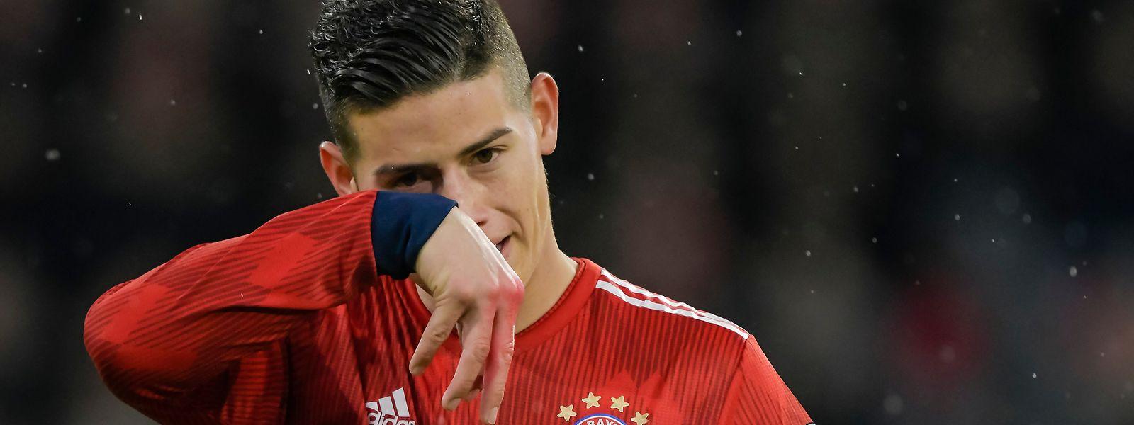 James und der FC Bayern mussten sich mit 1:3 geschlagen geben.