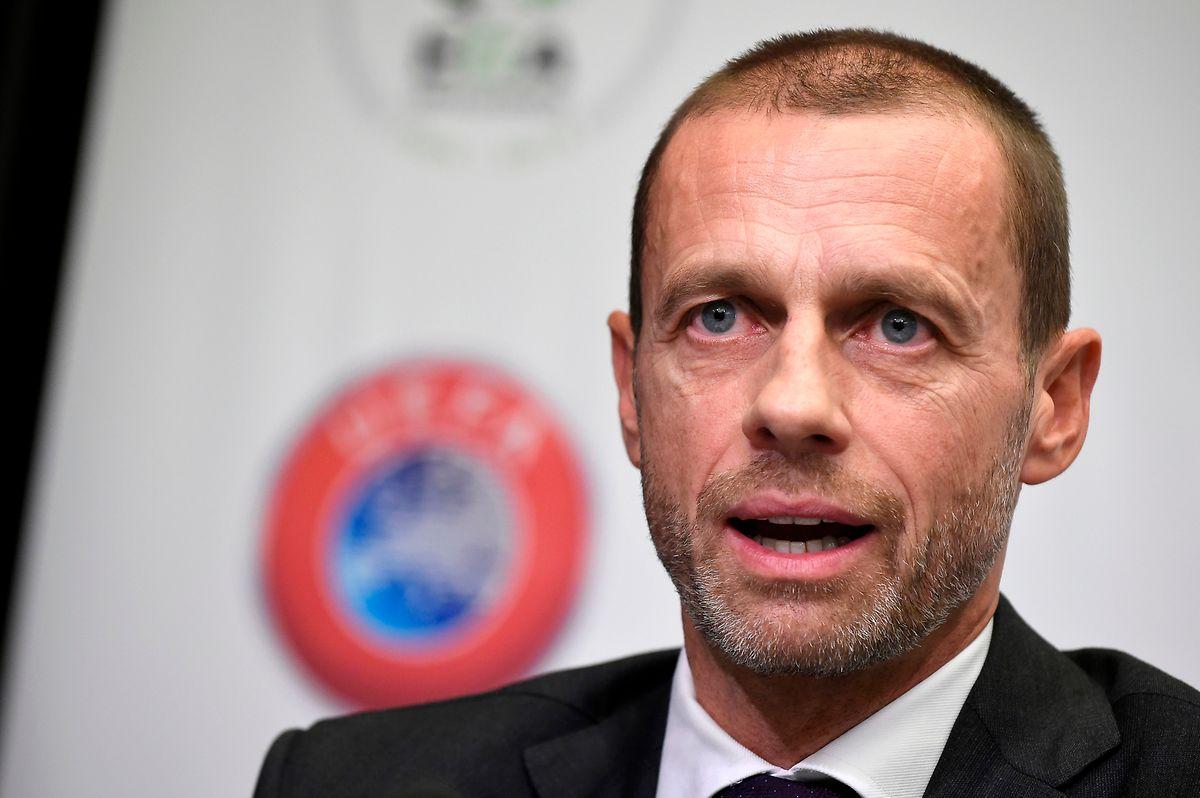 Die UEFA um Präsident Alexander Ceferin ist nicht erfreut.