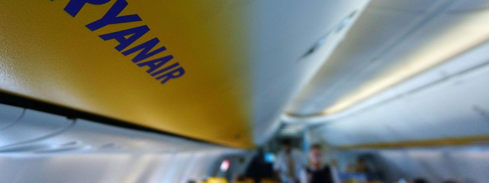 Von Ryanair gab es zunächst keine Reaktion zu dem Vorfall.