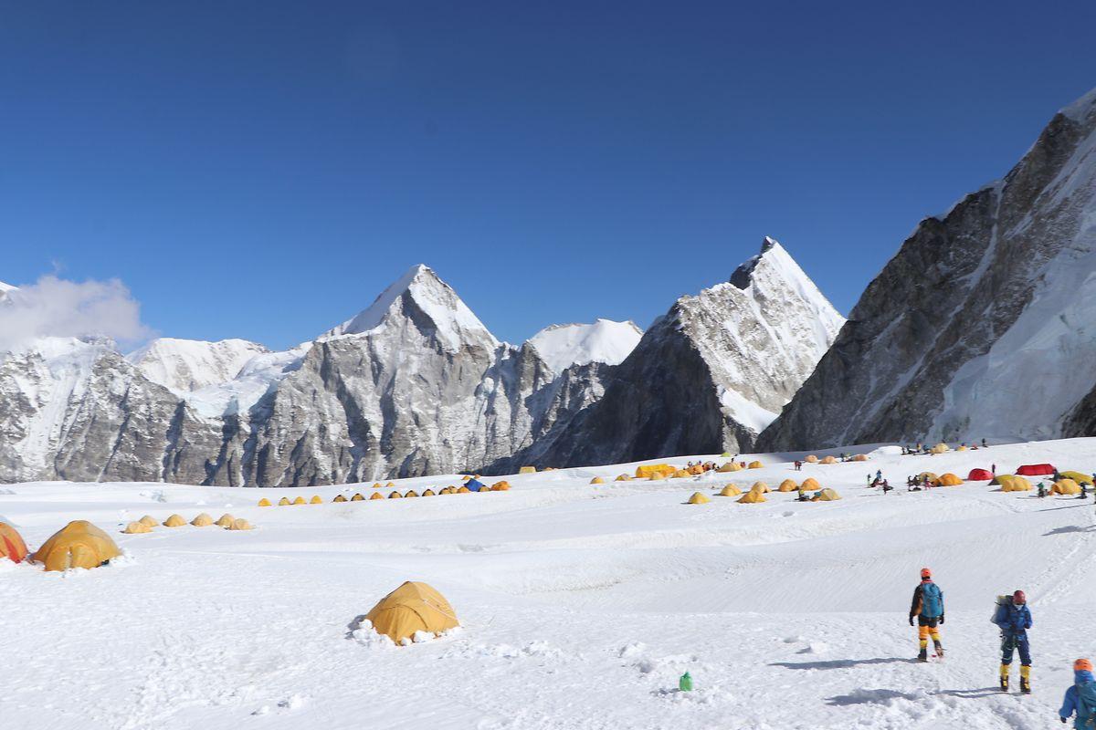 Die Wissenschaftler sammelten wichtige Daten, um genauer zu wissen, wie hoch Mount Everest wirklich ist.
