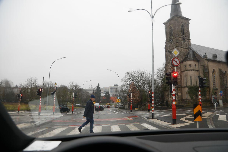Un radar sur les feux près de l'église de Hollerich: l'idée fait son chemin.