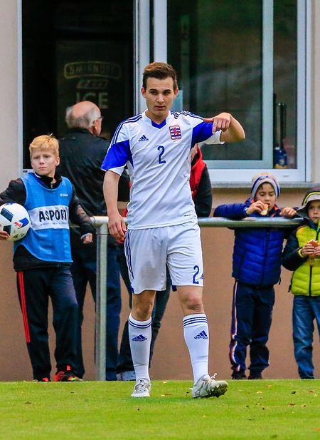 Eric Brandenburger spielt für Luxemburgs U21-Auswahl.