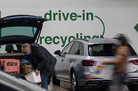 Seit 2011 können die Verbraucher ihre Verpackungs- und andere Abfälle im Drive-In-Recycling in Howald abgeben. Eine Bilanzierung des Pilotprojekts fehlt bis heute.