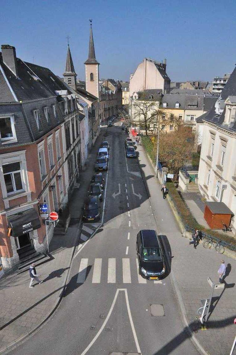 So sieht die Rue de la Libération aktuell aus.