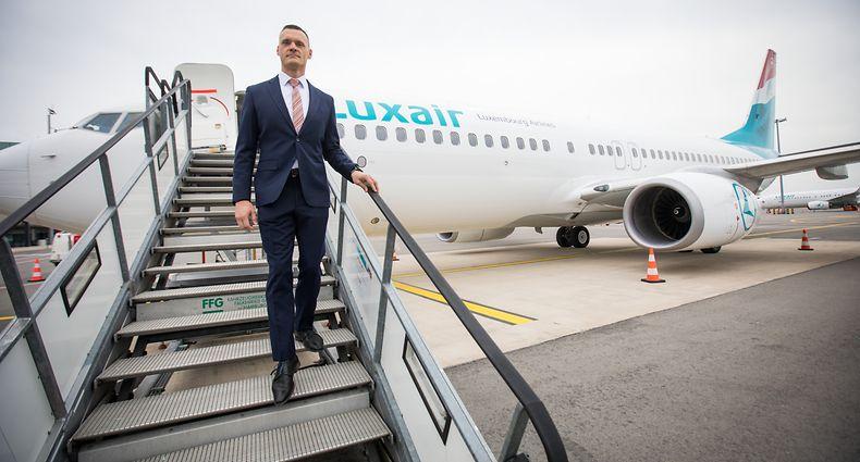 Gilles Feith neuer CEO - Luxair - Foto: Pierre Matgé/Luxemburger Wort