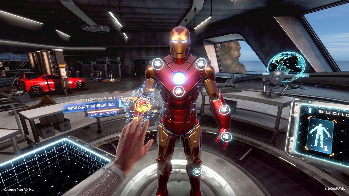 """VR benötigt deutlich mehr Rechenkraft als klassische Spiele. Nicht jede Szene in """"Iron Man VR"""" sieht so gut aus wie diese hier."""