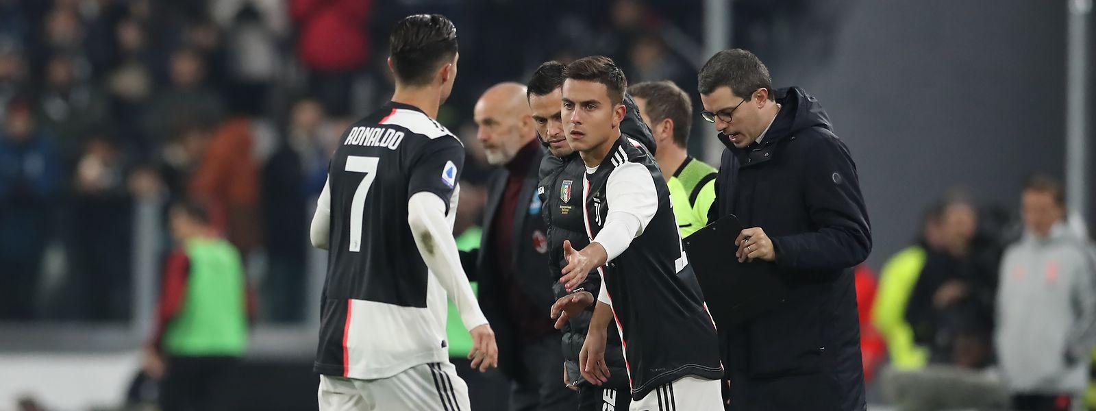 Le remplacement de Cristiano Ronaldo par Paulo Dybala dimanche soir avec la Juventus a fait couler beaucoup d'encre.