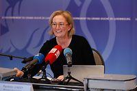 Politik, Covid-Situation, Paulette Lenert und Dr. Jean-Claude Schmit Foto: Luxemburger Wort/Anouk Antony