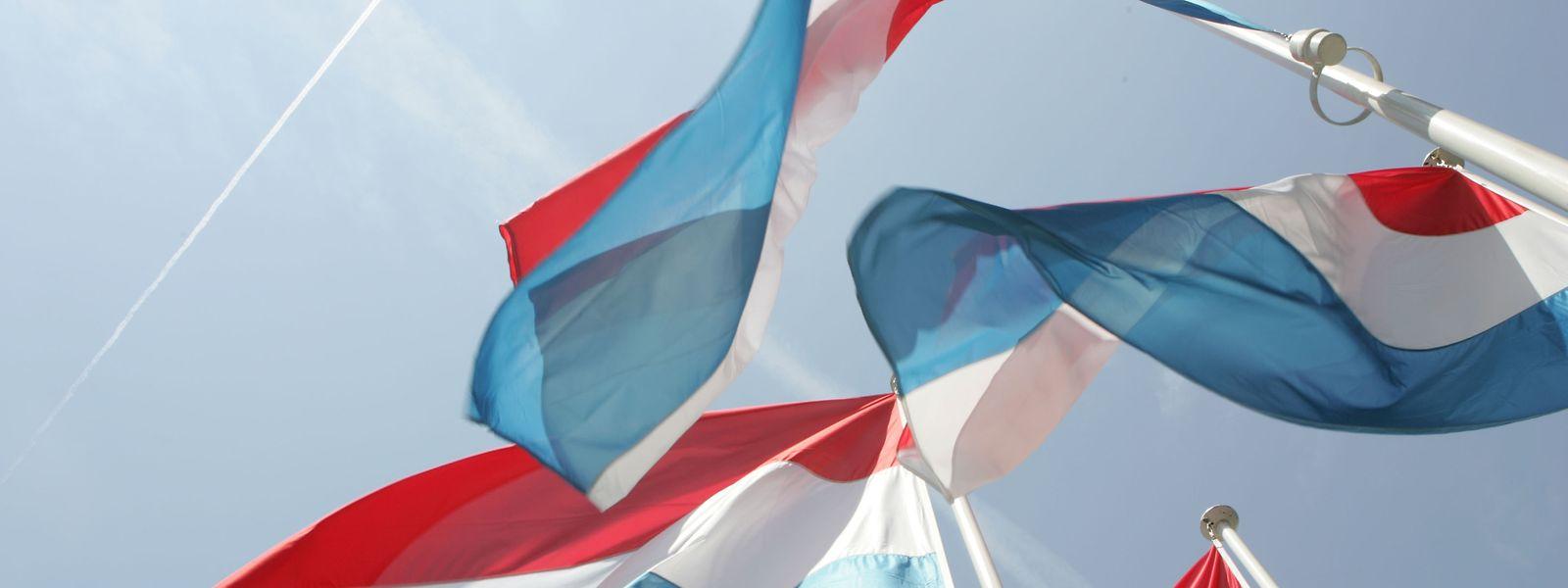 Au Luxembourg, les drapeaux étrangers peuvent être hissés sans exception.