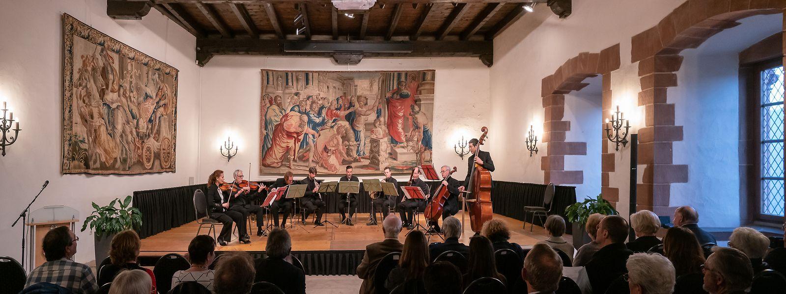 """Für die Konzerte der neuen """"MusicDays Vianden"""" wird unter anderem der Vic Abens-Saal im Schloss genutzt."""