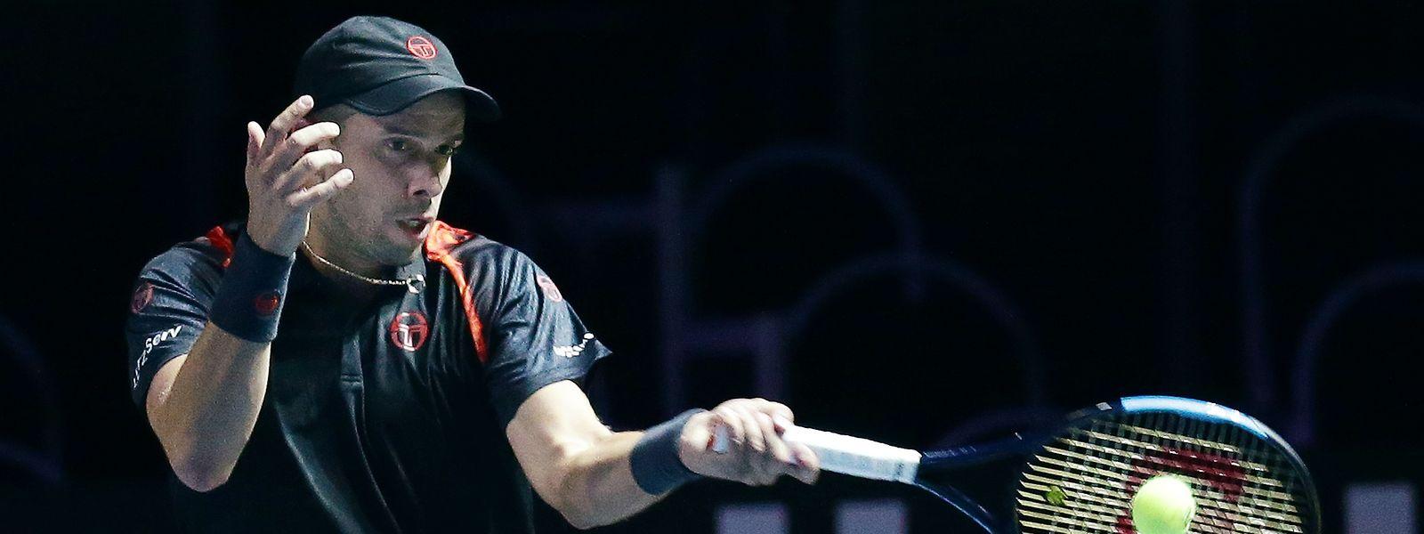 Für Gilles Muller war in Runde zwei Endstation.