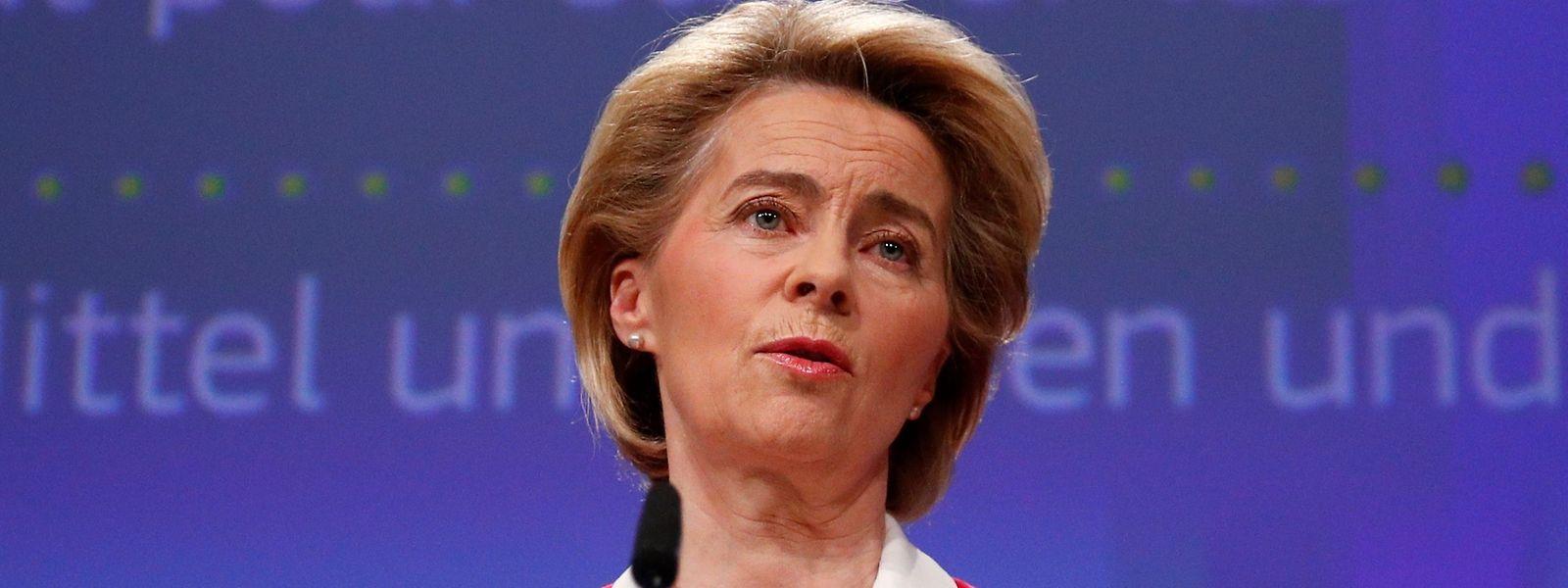 Ursula von der Leyen prône pour une  «réponse mondiale coordonnée»