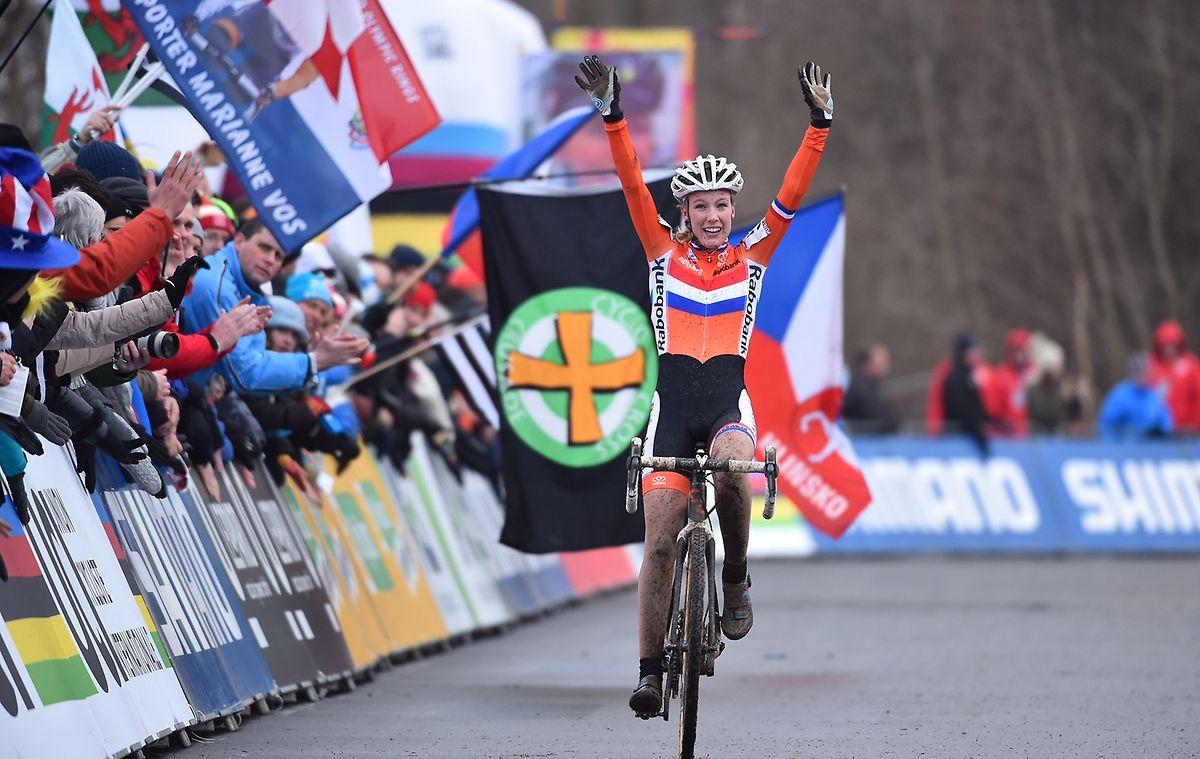 Annemarie Worst machte ihren Sieg in der letzten Runde perfekt.