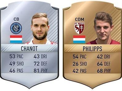 Maxime Chanot und Chris Philipps liegen weit auseinander.