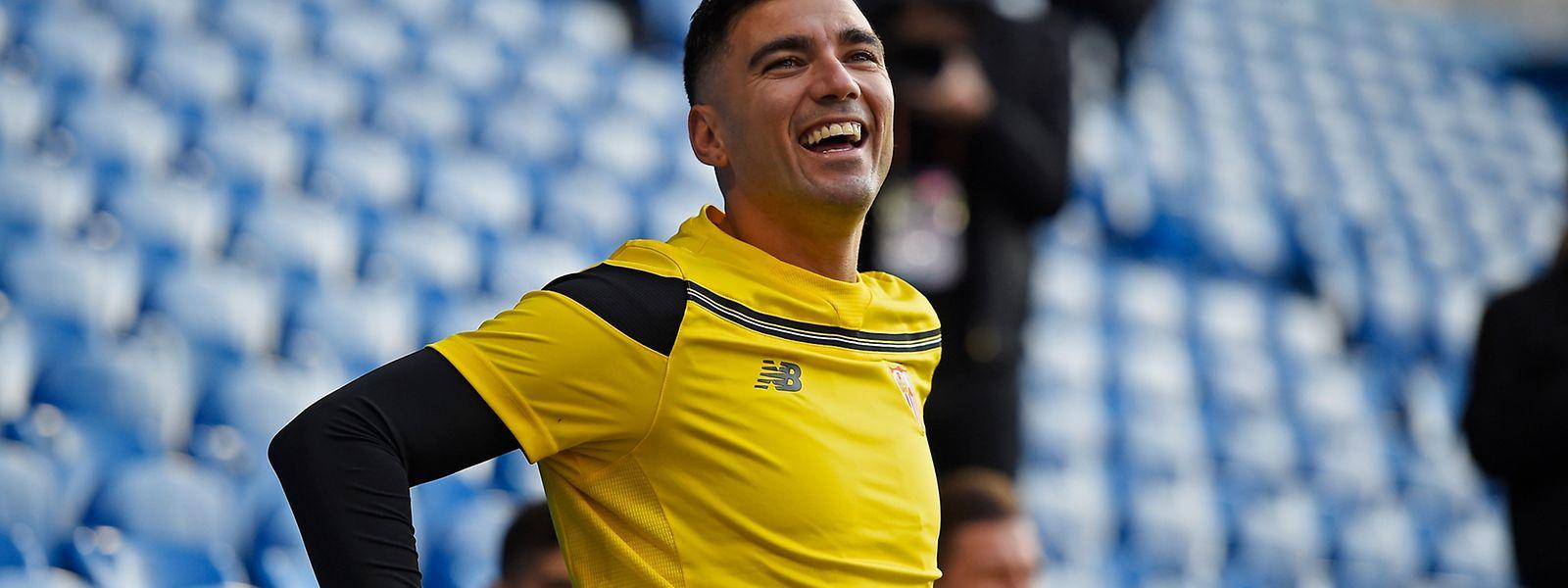 Hat José Antonio Reyes vom FC  Sevilla auch nach dem Finale noch gut lachen?
