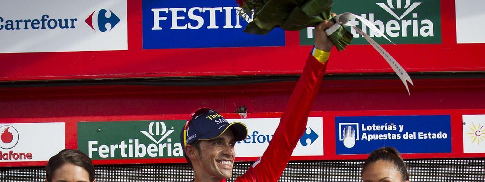 Alberto Contador a décroché la Vuelta pour la troisième fois de sa carrière.
