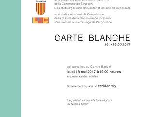 """Expo """"Carte Blanche"""""""