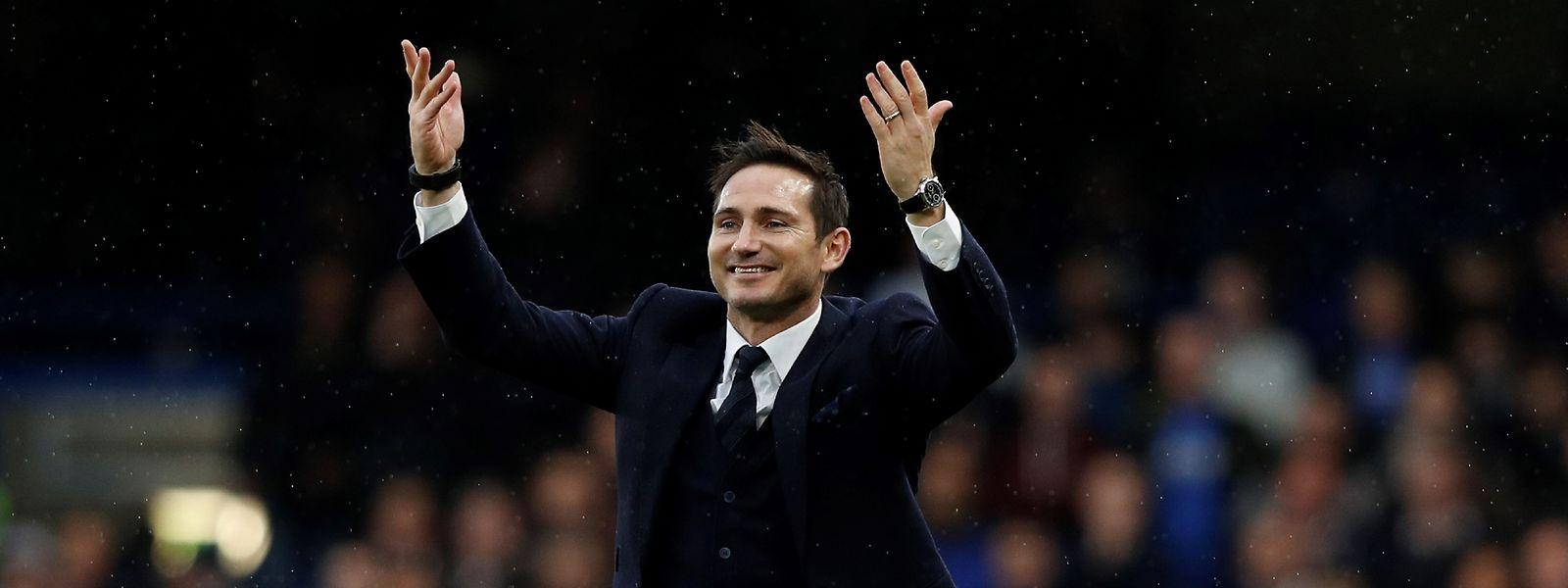 Frank Lampard wird beim FC Chelsea mit offenen Armen empfangen.