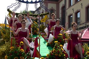 A parada das flores em Wiltz