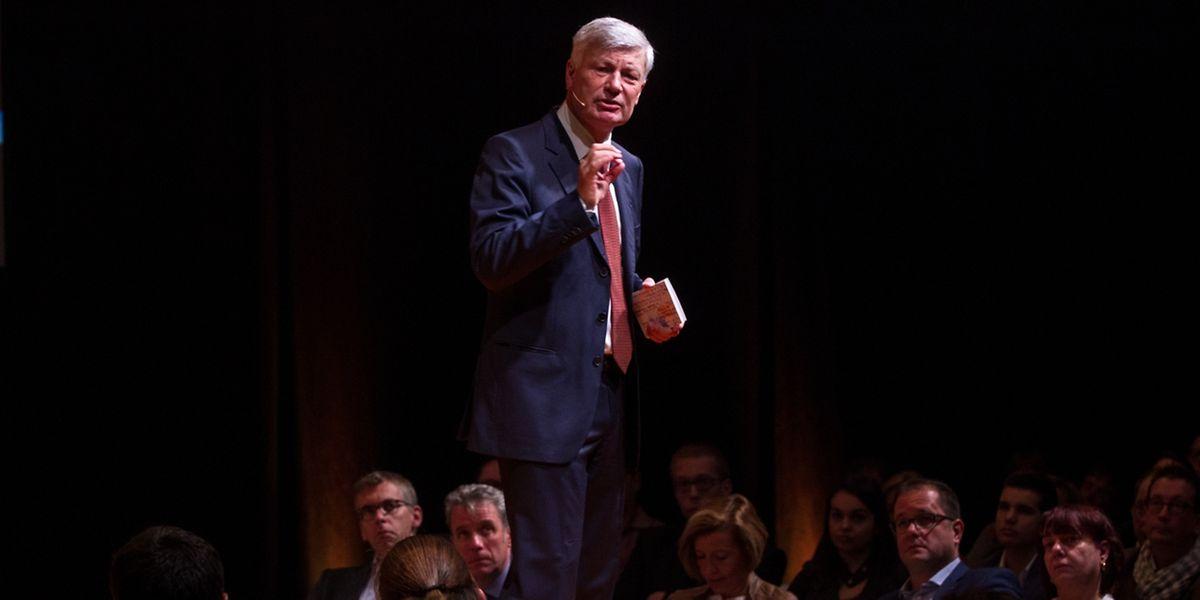 Claude Wiseler bei seiner Rede vor dem CSV-Konvent am Samstag.