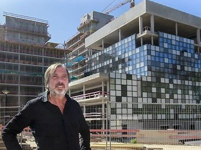 Alain Berwick, pictured in front of the new RTL office in Kirchberg, will cease to serve as RTL CEO at the end of 2016