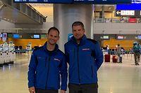 Emmanuel Bourg et Philippe Hein partent pour un maximum de trois semaines aux Bahamas.