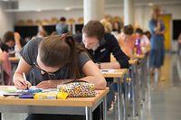 Beginn Premiere's Examen Lycée Aline Mayrisch / Foto: Joaquim VALENTE