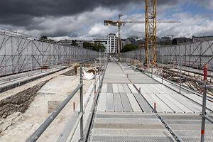 19.5. LuxVille / Pont Adolphe / Visite Grand Duc Henri et Min Francois Bausch Foto: Guy Jallay
