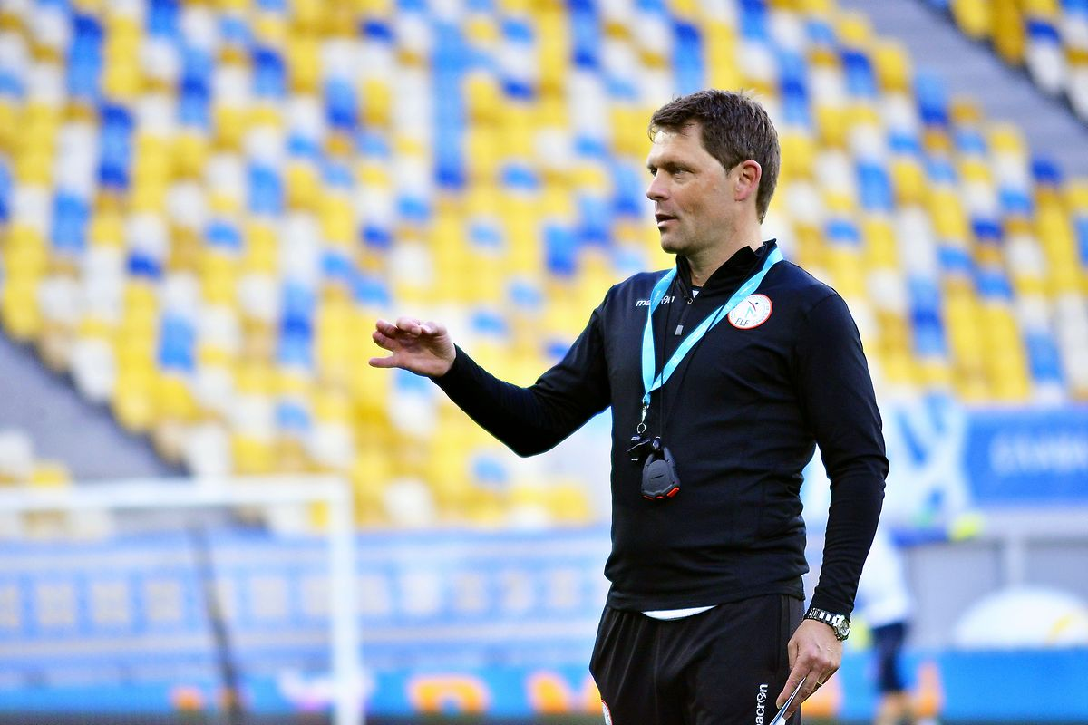 Nationaltrainer Luc Holtz ist voll des Lobes für die ukrainische Mannschaft.