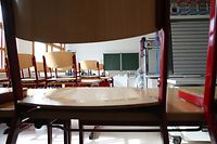 Ab Ende November bleiben viele Klassenzimmer in den Sekundarschulen wieder leer.