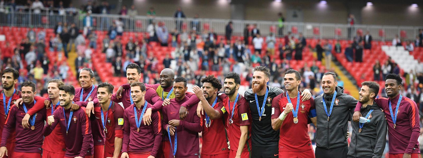 Portugal subiu quatro lugares no 'ranking' do futebol mundial