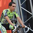 Alberto Contador (E/Tinkoff-Saxo) bei der offiziellen Teamvorstellung der Tour 2015 - Foto: Serge Waldbillig