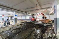 Lokales, CHEM-Parkhaus ''Lumière'' Renovierung, Foto: Lex Kleren/Luxemburger Wort