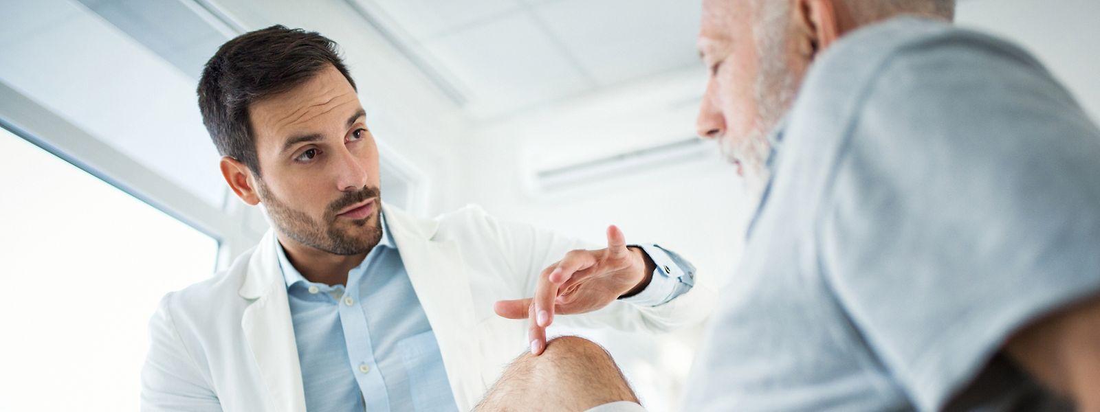 Mit Hilfe der App soll der Weg zum Allgemeinarzt verkürzt werden.