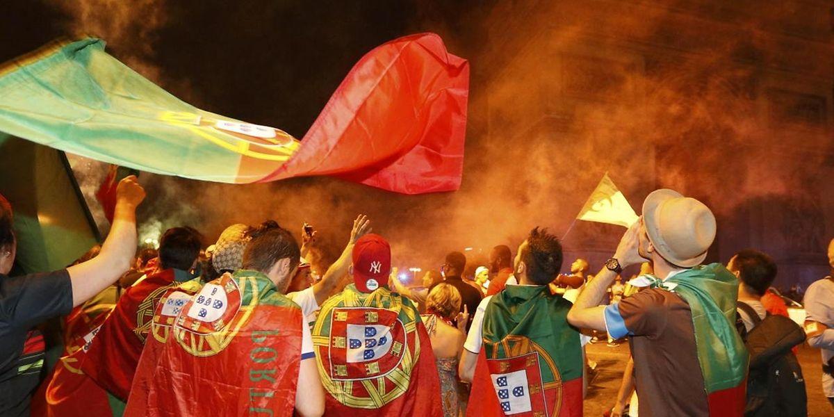 Der erste Titel für Portugal bei einem großen Turnier wurde ausgiebig gefeiert.
