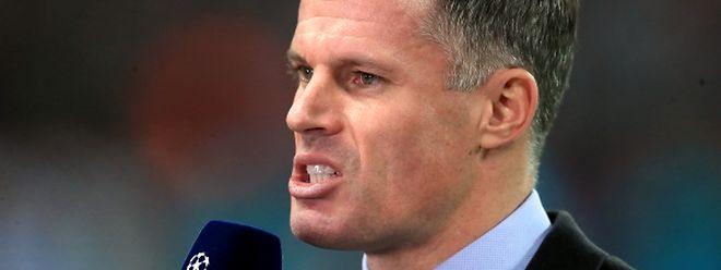 Der ehemalige englische Fußballprofi Jamie Carragher ist vollkommen aus der Rolle gefallen.