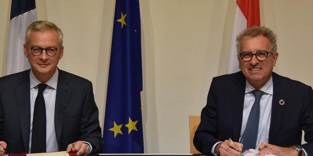 Le Français Bruno Le Maire et son homologue Pierre Gramegna ont levé toute ambiguïté ce jeudi.