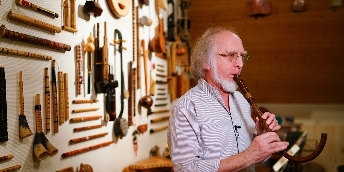 Johny Fritz hat eine Leidenschft für Alte Musik.