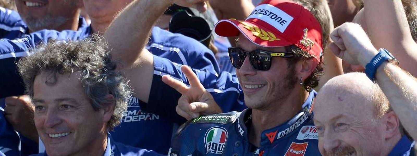 Yamaha et Valentino Rossi ont décroché ce dimanche leur premier succès de l'année en MotoGP.