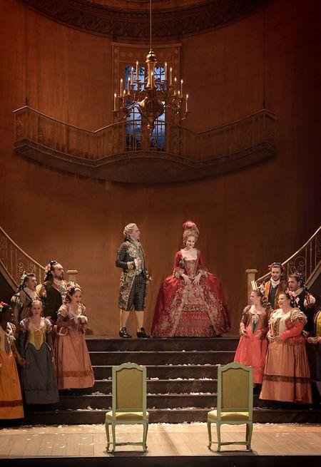 L'opéra «Le Nozze di Figaro» de Mozart sera à l'affiche.