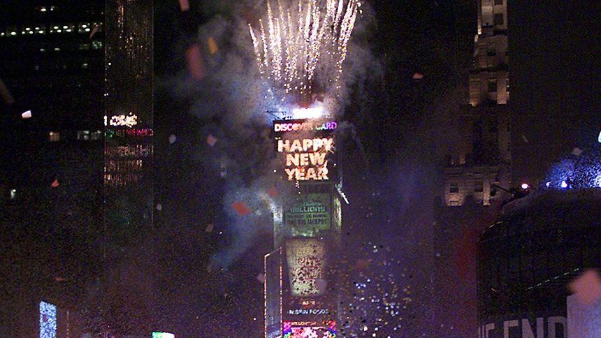 En termes de villes, New York est la préférée pour passer la nouvelle année.