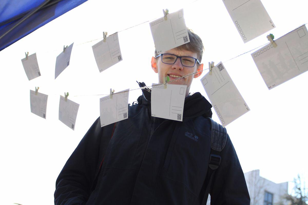 Der deutsche Journalismus-Student David Missal. Missal ist aus China ausgewiesen worden, nachdem er dort über die Verfolgung von Menschenrechtsanwälten recherchiert hatte.