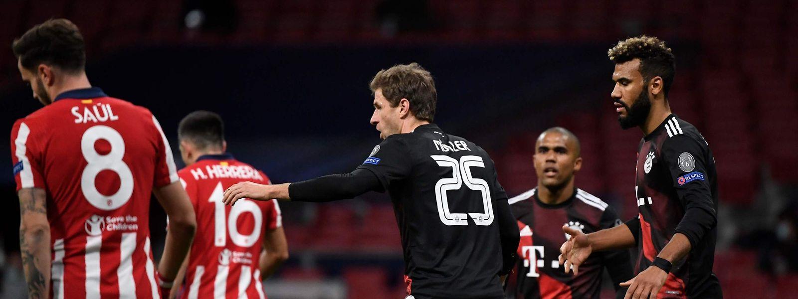 Grâce à son pénalty, Müller a empêché l'Atlético de valider son billet pour les huitièmes de finale.