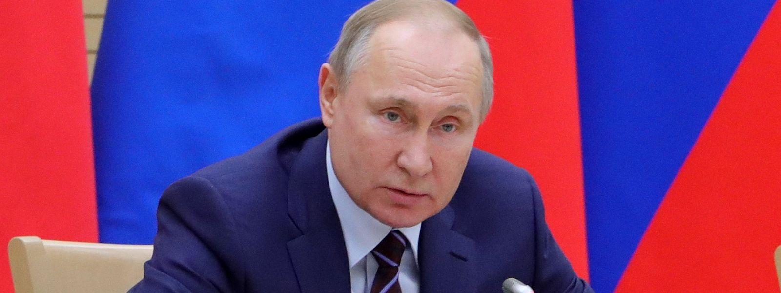 Wladimir Putin schraubt an der russischen Institutionen-Gesetzgebung.