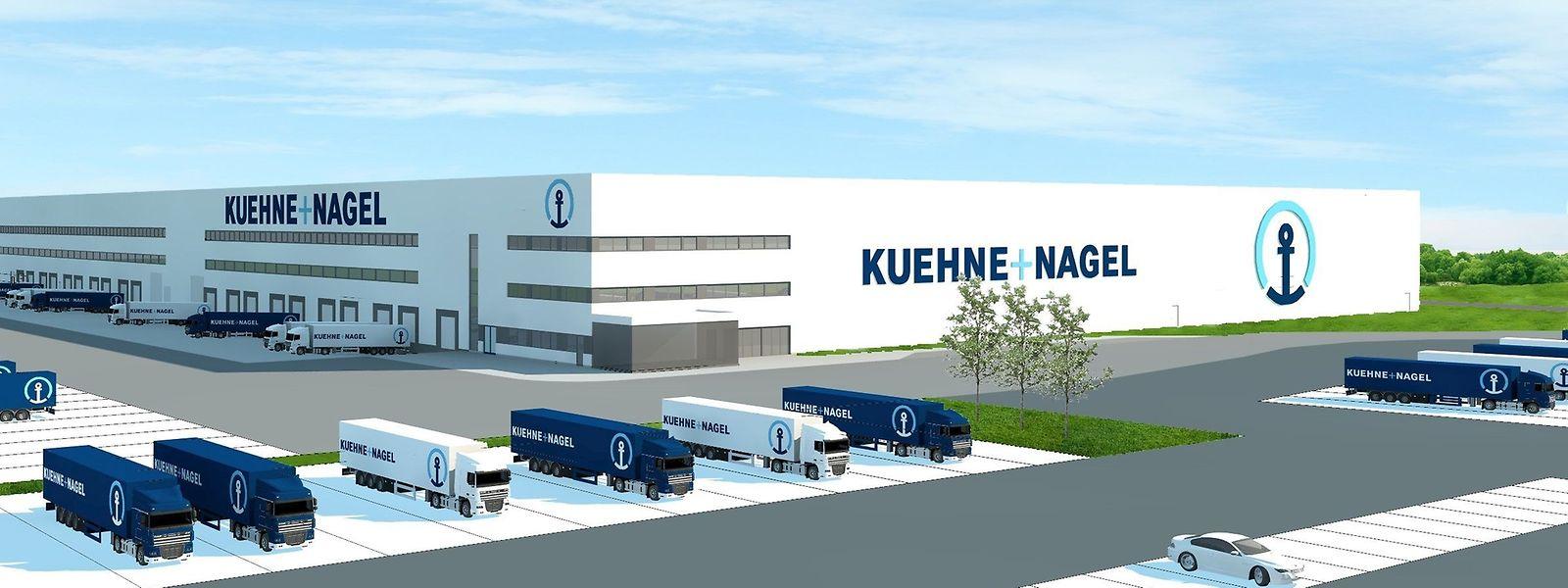 Logistikbranche : Kuehne+Nagel baut Standort Contern aus