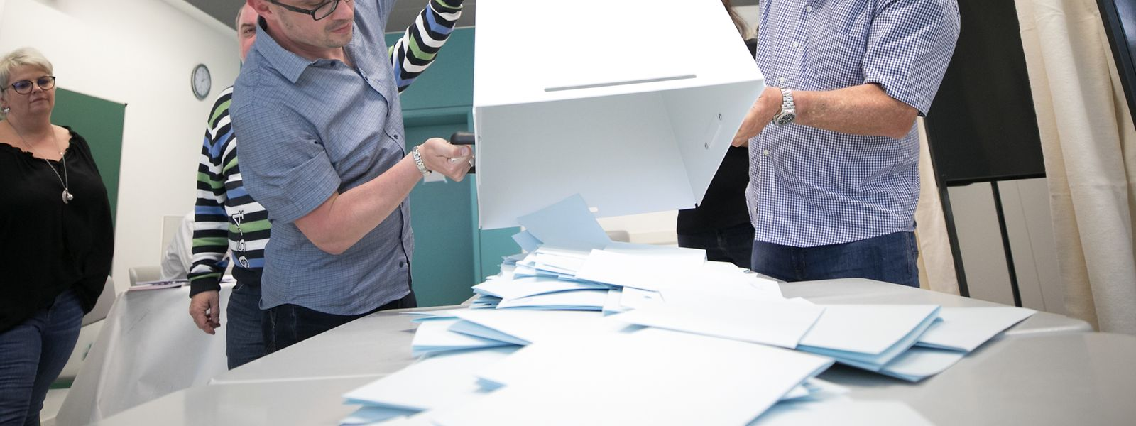 285.000 Wähler waren für die Europawahl in Luxemburg eingeschrieben.
