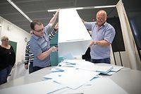 Europawahlen Luxemburg, Wahlen, Stimmzettel, Foto: Guy Wolff/Luxemburger Wort