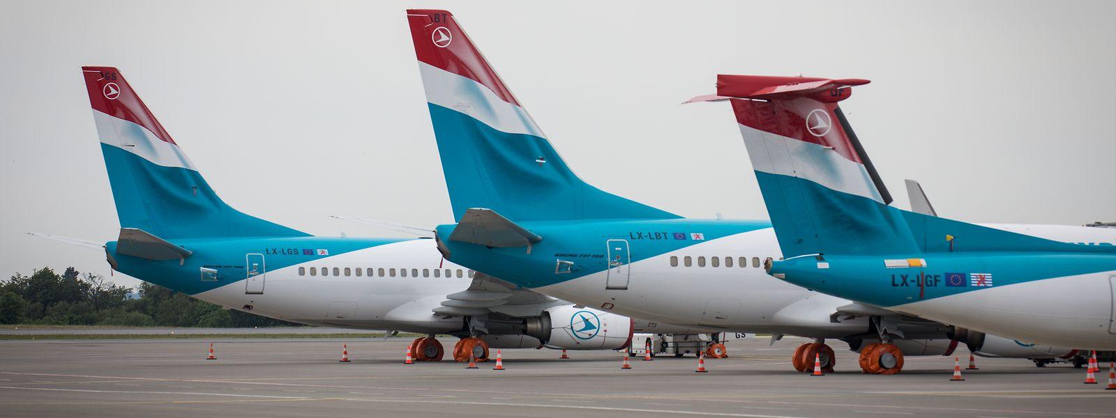 Wurde hart von der Pandemie getroffen: Die Fluggesellschaft Luxair.